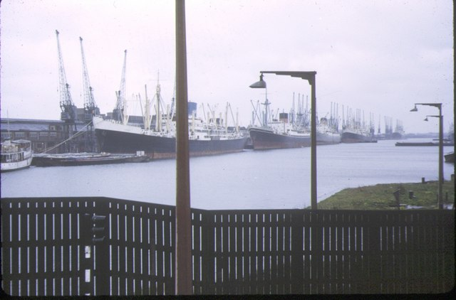 Royal Albert Dock, 1973
