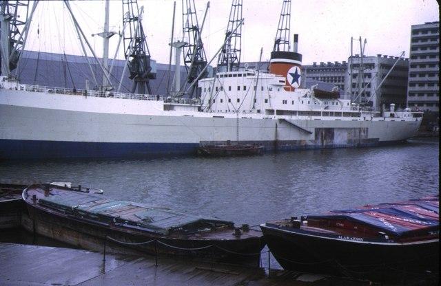 Royal Victoria Dock, 1973