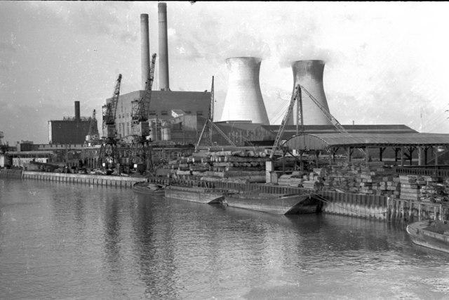 West Ham Power Station, 1973