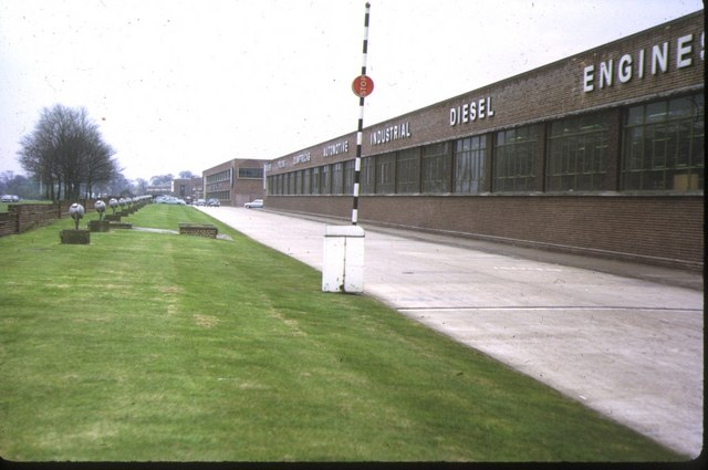 AEC Motor Works, Southall, 1973