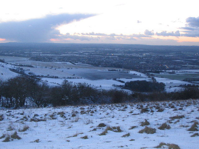 The view from Westbury Hill