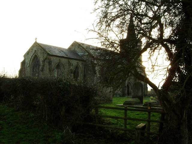 All Saints, Ratcliffe Culey from E.N.E.