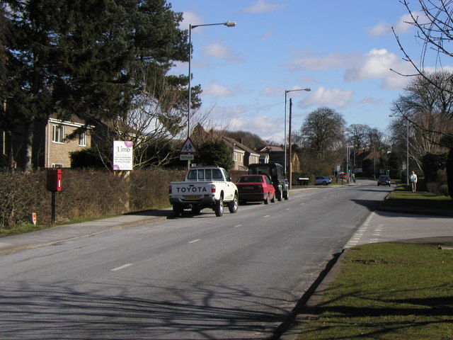 The road to Elloughton