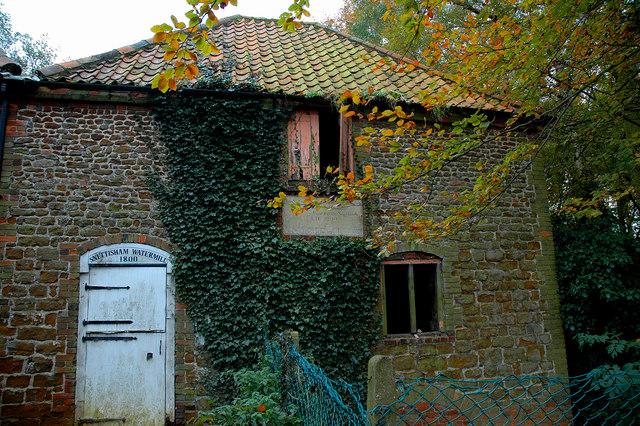 Old watermill, Snettisham.