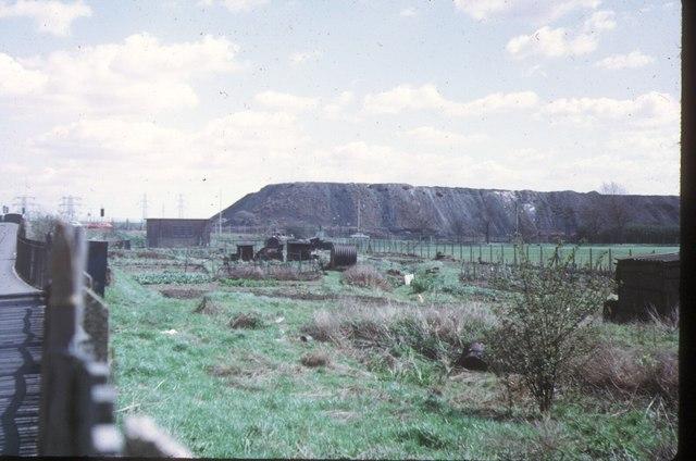 Beckton Alps, 1973