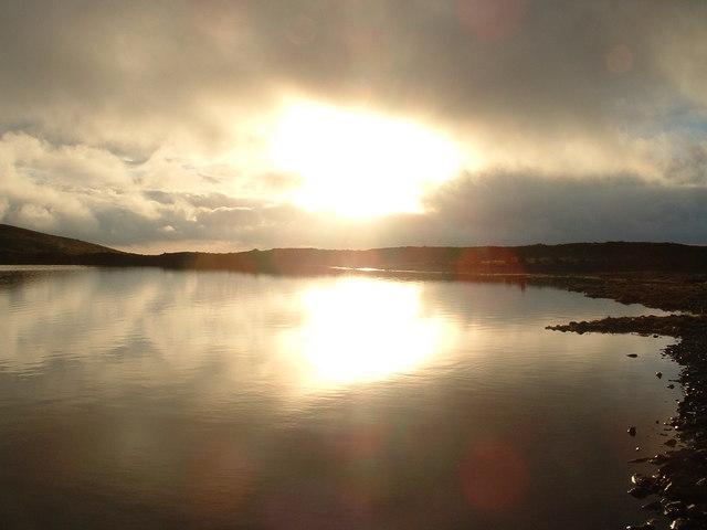 Lake above Ysbyty Ystwyth