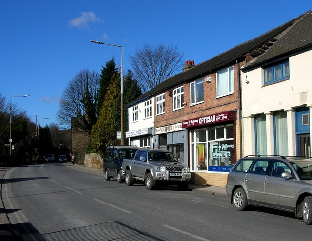 Shops in Dronfield, Sheffield
