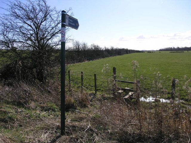 Footpath to Brampton