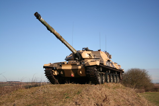 Tank on Ancaster Heath
