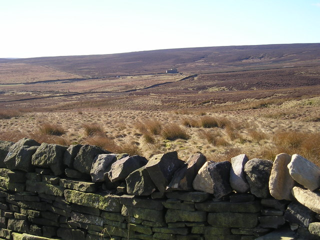 Keighley Moor from Long Gate