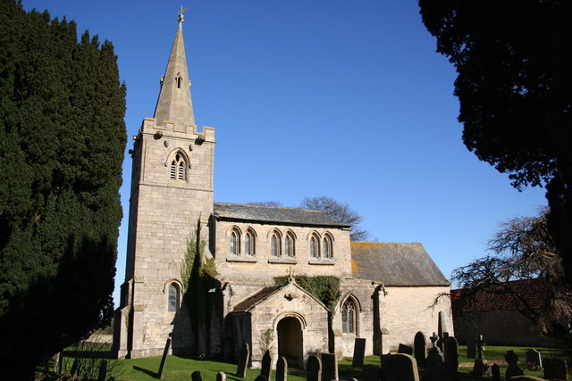 St.Andrew's church, Kelby, Lincs.