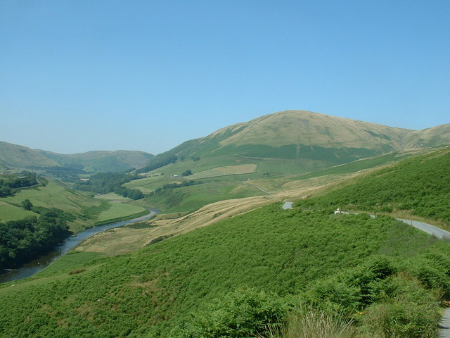 "The ""Fair Mile"" in the Lune Gorge"