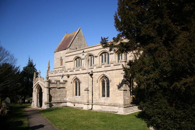 St.John the Baptist's church, Londonthorpe, Lincs.