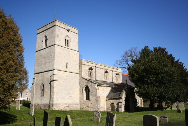 St.Mary Magdalen's church, Old Somerby, Lincs.