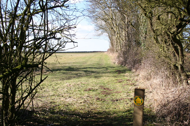 Footpath to Rise Plot