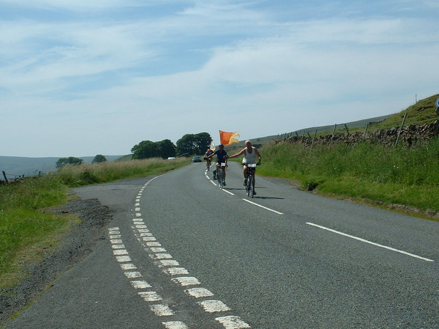 Junction on the A686