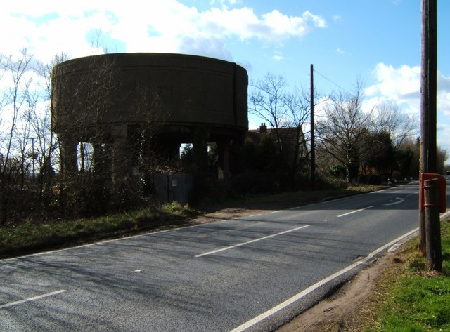 Water Tower Near Tyle Hall.