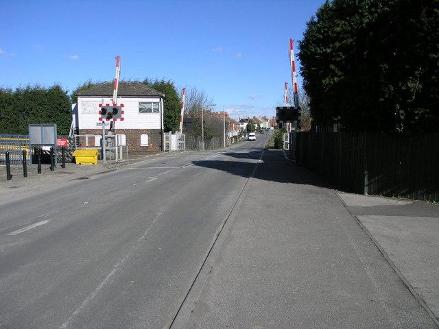Shireoaks Level Crossing