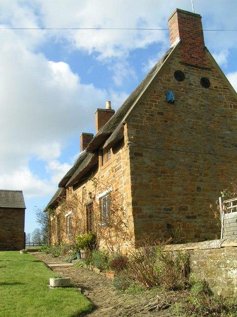Ironstone cottage, Upper Harlestone