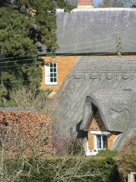 Ironstone and thatch, Harlestone