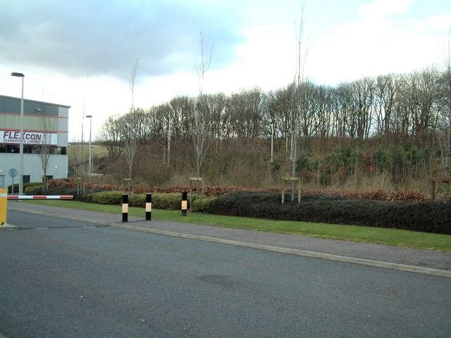 Rural looking Industrial Estate