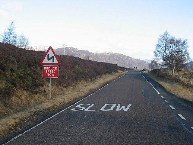 A Wade Road. A889.