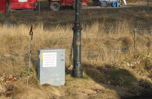 Gergask lamppost