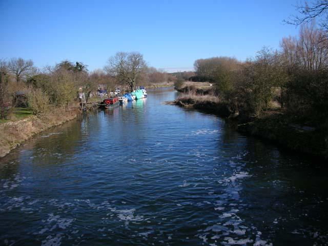 River Nene near Woodford Mill