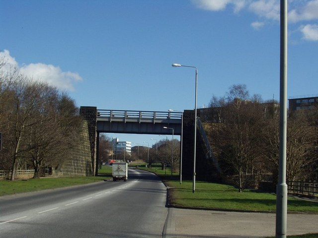 Railway Bridge over Ring Road, Horsforth / West Park