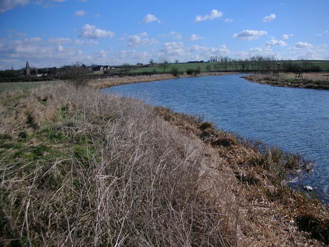River Nene approaching Denford