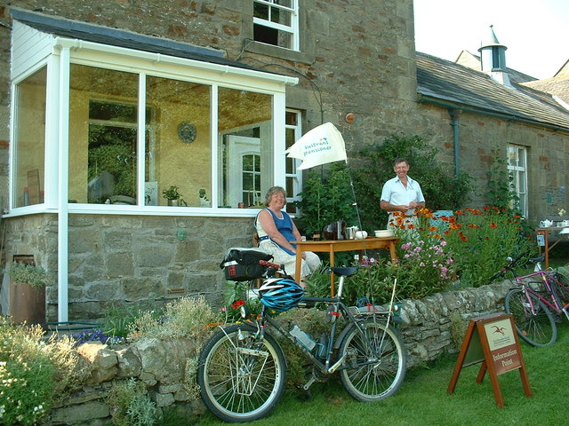 Cyclist's cafe in Elsdon