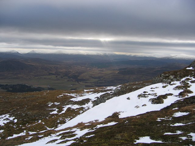View from Meall na h-Uinneig.
