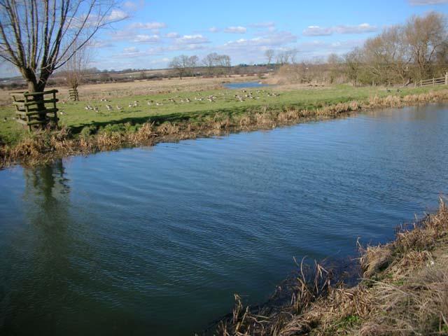 River Nene north of Denford