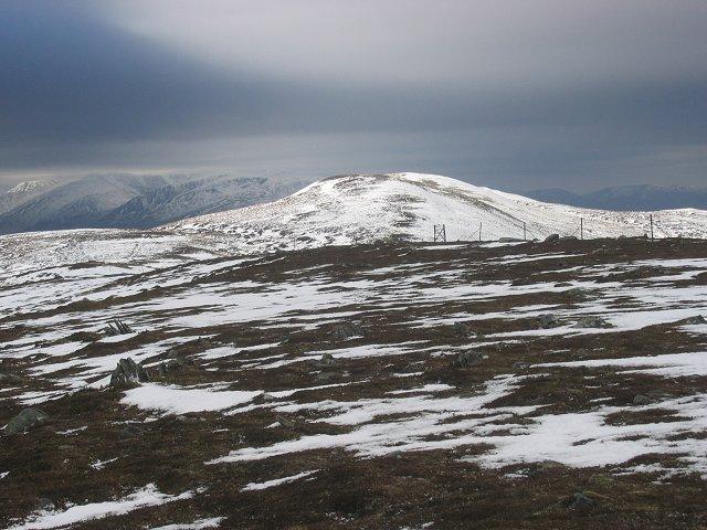 Mullach Sron na h-Uamhaidh: West Ridge.