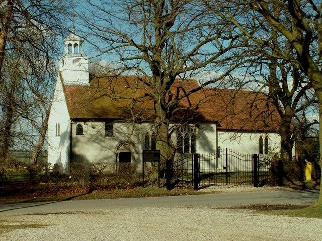 Parish church of Barnston, Essex