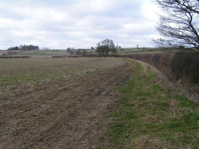 Byway near Lower Glassthorpe