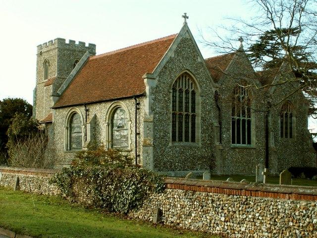 St. Mary's church, Little Easton, Essex