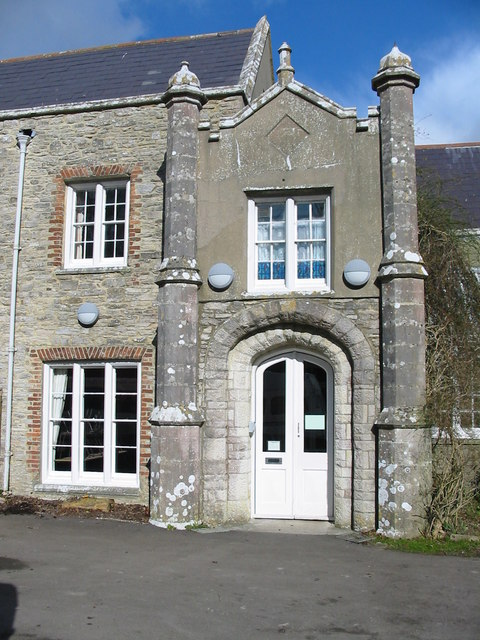 Architectural detail Leeson House Langton Matravers Swanage Dorset