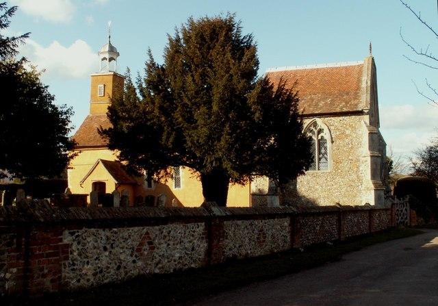 St. Mary the Virgin church, Tilty, Essex