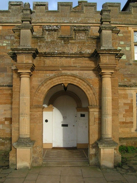Doorway, Delapre Abbey
