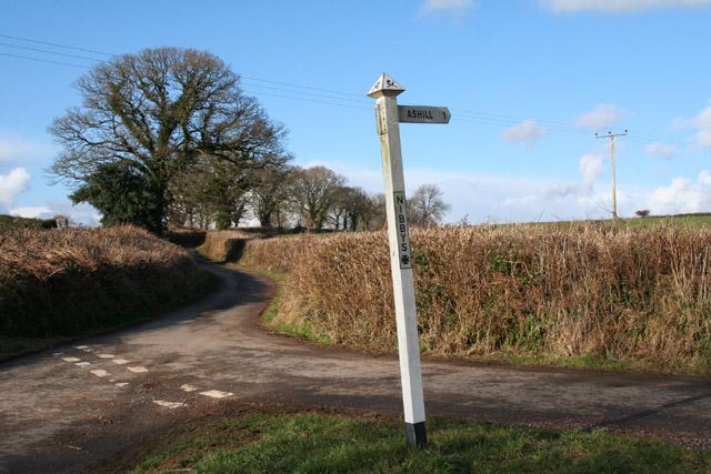 Kentisbeare: Nibby�s Cross
