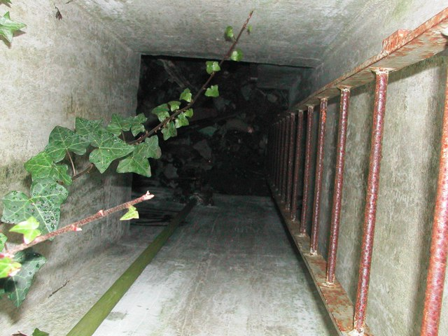 Entrance to the underground bunker