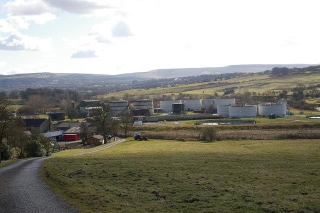 Burnley Sewage Works