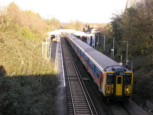 Clandon railway station