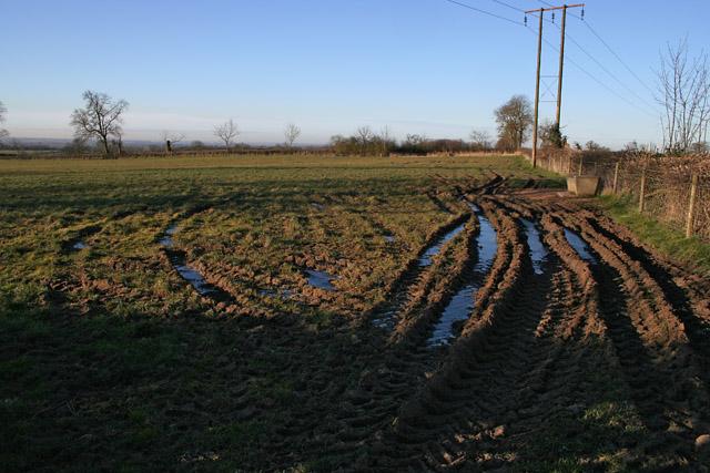 Farmland near Grimston, Leicestershire