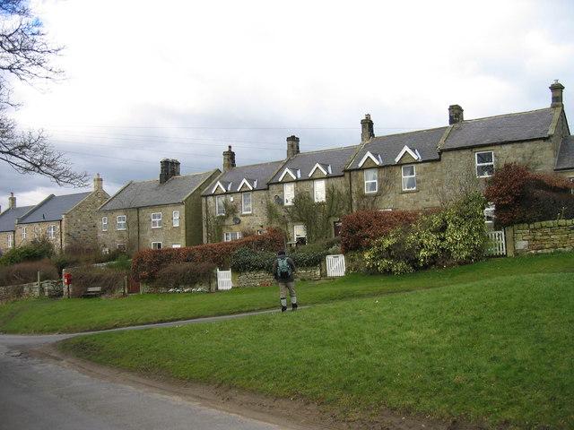 Ingoe, terrace houses