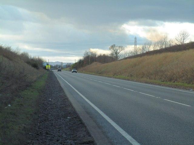 A911 near Windygates
