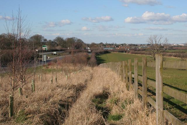Wanlip Hill, near Birstall, Leicester