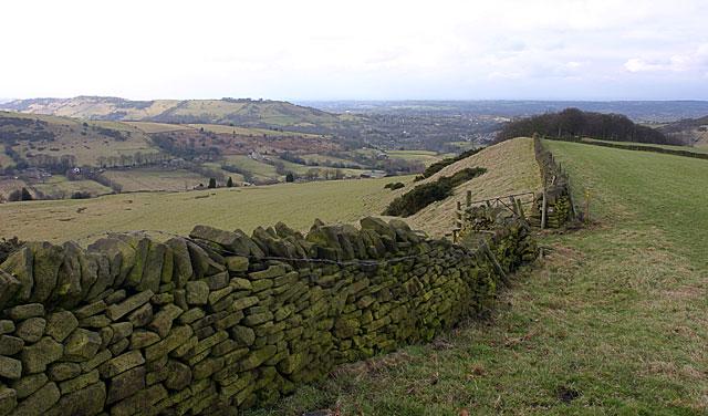 Ridge above Gausie Brow