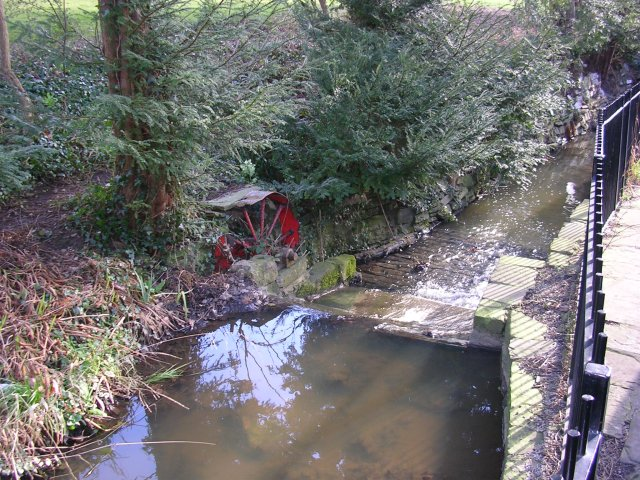 Site of old water wheel